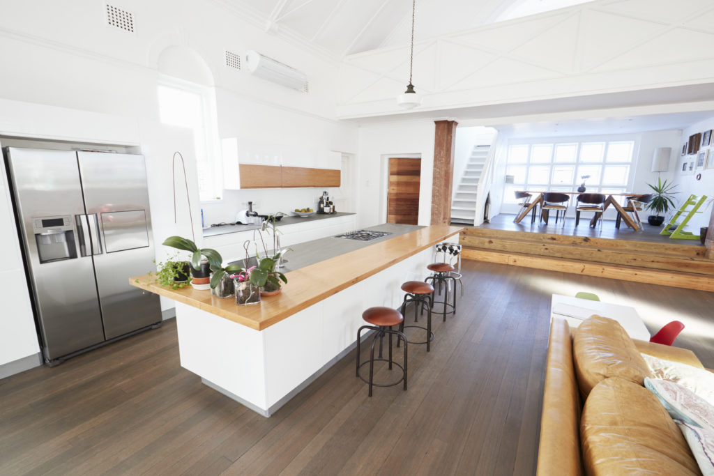 An Open-Concept Kitchen